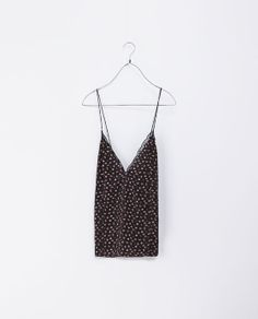 ZARA - NEW THIS WEEK - FLORAL TOP WITH LOW BACK