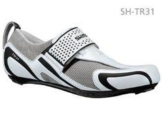 Shimano SH-TR31 Men's Triathlon Cycling Shoe, White/Black, 43 Shimano. $124.95