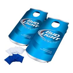 Shop a great selection of x Bud Light Manufactured Wood Cornhole Board Hey! Find new offer and Similar products for x Bud Light Manufactured Wood Cornhole Board Hey! Red Bean Bag, Blue Bean Bags, Bud Light Can, Bud Light Beer, Cornhole Lights, Custom Cornhole Boards, Bag Toss Game, Cornhole Game Sets, Corn Hole Game