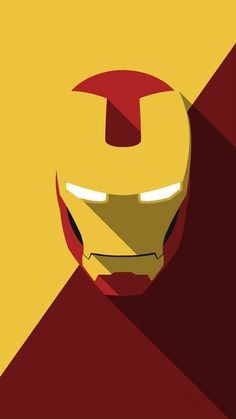 Minimal Heads Iron Man - Yousuf Khan J (Tony Stark / Marvel / Avengers)