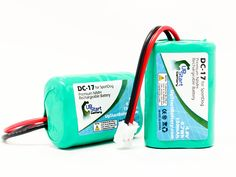 2x Pack - SportDog SD-400 Receiver Battery - Replacement for SportDog DC-17 Dog Training Collar Battery (150mAh, 4.8V, NI-MH) => You can get additional details, click the image : Dog Training and Behavior Aids