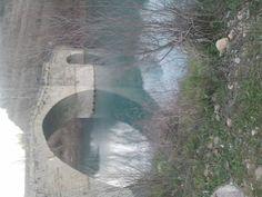 Puente Romano en Graus, Huesca. Spain