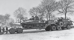 dragon wagon recover a destroyed sherman armored division outside bastogne 6 january 1945 Army Vehicles, Armored Vehicles, Dragon Wagon, Us Armor, Truck Transport, Old Lorries, Military Memes, Sherman Tank, Ww2 Photos