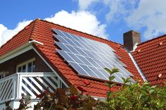 Solar roofing is nothing new. Solar panels that are installed on top of an existing roof to generate electricity for the home have been around for years. Used Solar Panels, Solar Panel Cost, Alternative Power Sources, Alternative Energy, Solar Energy System, Solar Power, Wind Power, Solar Solutions, Solar Roof Tiles