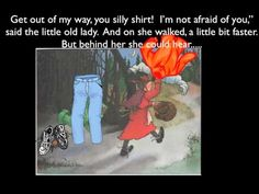 The Little Old Lady Who Wasn't Afraid of Anything video: Song with illustrations from the book.