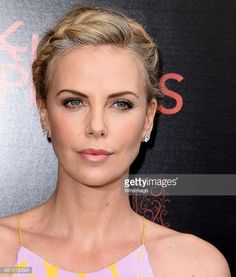 Charlize Theron arrives at the Premiere Of DIRECTV's 'Dark Places' at Harmony Gold Theatre on July 21, 2015 in Los Angeles, California.