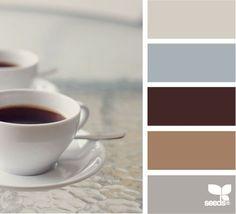 coffee tones #Color Palettes