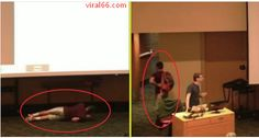 This Sleeping Student Fell Down During A Class Presentation And Walked Out In Full Swag! - Viral66