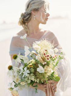 Windswept & romantic coastal bridal Inspiration in British Columbia | British Columbia Wedding Inspiration Coastal Wedding Inspiration, Wedding Shoot, Wedding Dresses, Song Of The Sea, British Columbia, Flower Arrangements, Wedding Flowers, Backdrops, Romantic