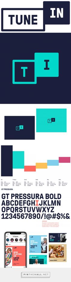 Brand New: New Logo for TuneIn done In-house [UPDATED]... - a grouped images picture - Pin Them All