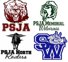 "If you ever hear the acronym ""PSJA"" in high school sports or location, it is for the Rio Grande Valley tri-city towns of Pharr, San Juan, Alamo. It is considered the only independent school district that has three cities merged in Texas. PSJA has since grew adding additional high schools within its own towns yet keeping the acronym as PSJA. The original high school is in San Juan, North & Southwest in Pharr, and Memorial in Alamo."