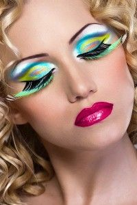 makes me think this makeup could be used as part of an aquarian type costume
