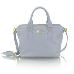 JULIETTA silverblue leather bag