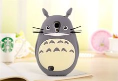 Cute 3D Animal Cartoon Totoro Silicone Case Cover Skin Cover For Mobile Phones #UnbrandedGeneric