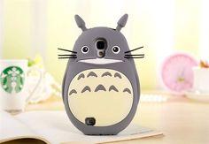 Cute 3D Animal Cartoon Totoro Silicone Case Cover Skin Cover For Mobile Phones #UnbrandedGeneric