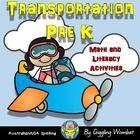 Transportation Pack PreK by Giggling Wombat | Teachers Pay Teachers