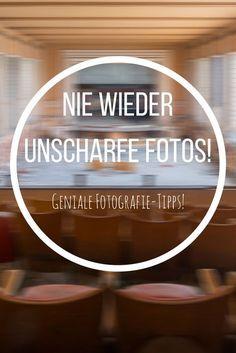 Fotografie Tipps für DSLRs und Systemkameras: Nie wieder unscharfe Fotos! Ich zeige dir Gründe, weshalb deine Fotos unscharf und verwackelt sind und zeige dir gleichzeitig Lösungen, wie du scharfe Bilder schießt!