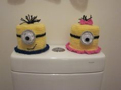 Minion Toilet Roll covers