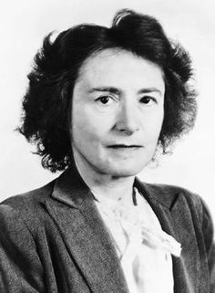 Biochemist Gerty Cori was born on this day in 1896. For her work in discovering how carbohydrates are metabolized, she was the third woman and the first American woman to win a Nobel Prize in science (specifically for Physiology or Medicine).