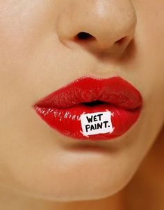 Wet paint x