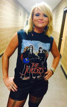 Miranda Lambert.... because THERE IS such a thing as being country AND badass!!!!!! <3