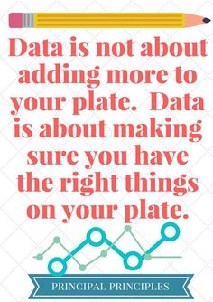 Use Data to Improve Student Achievement - Principal Principles Education Quotes For Teachers, Teacher Quotes, Quotes For Students, School Leadership, Leadership Coaching, Educational Leadership Quotes, Leadership Development, Coaching Quotes, Leadership Qualities