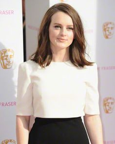 Sophie McShera In Real Life ...... All it takes is a blow-out and a designer gown to turn Sophie McShera from scrappy peasant to beautiful starlet.