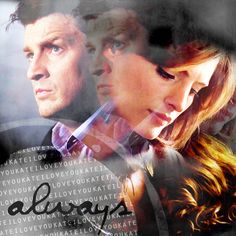 i love you kate! always by patty Castle Tv Series, Castle Tv Shows, Great Love Stories, Love Story, Castle Quotes, Castle 2009, Richard Castle, Castle Beckett, Nathan Fillion