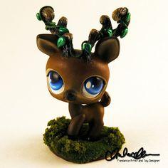 Forest Spirit Elk Custom LPS by thatg33kgirl on DeviantArt
