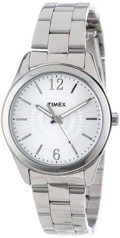 Timex Women's T2P185KW 'Ameritus' Stainless Steel Watch ** Check out this great product.