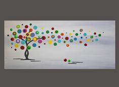 Acrylmalerei - abstraktes Gemälde Original Dekoration Keilrahmen - ein Designerstück von mai-art bei DaWanda