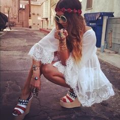 Fashionably Fly: Style Inspiration: 4th of July Looks