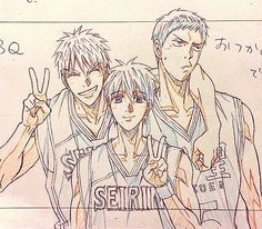 Kuroko no Basket Basket Drawing, Rilakkuma Wallpaper, Generation Of Miracles, Shall We Date, Kuroko's Basketball, Anime Sketch, Fandom, Kuroko No Basket, Anime Figures