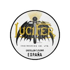 Sticker Lucifer Motorcycles x Lorenzo (Aristocratic Motorcyclist) : Alas Negras o Madame Lucifer Motorcycle Shop, Team Logo, Motorcycles, Stickers, Classic, Black Heart, The Outsiders, Hearts, Derby