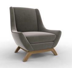 Jensen Chair in Ellis Stone