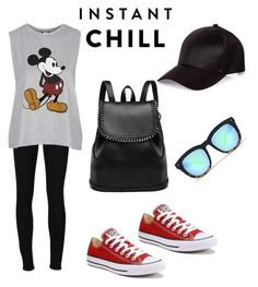 """Untitled #5"" by punkie707 ❤ liked on Polyvore featuring Frame, Topshop, Converse and River Island"
