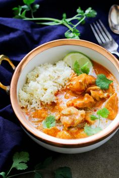 Paleo Instant Pot Butter Chicken (Whole30, Keto)