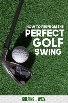 How to Perform Perfect Golf Swing? - Golfing Well How to Perfect Your Golf Swing. Want to swing the golf club better? Check out these golf swing tips to play better golf. Golf Score, Golf Instruction, Golf Putting, Golf Exercises, Golf Player, Golf Tips For Beginners, Perfect Golf, Golf Training, Golf Lessons