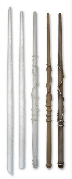Harry Potter Paper Wands