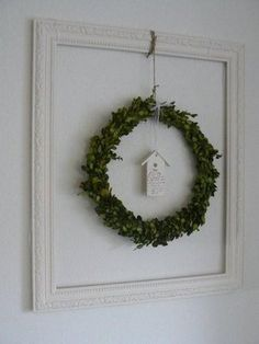 buxus wreath