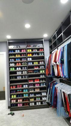 Got Shoes? We have the solution!   www.closetstorage.com