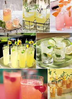 summer wedding drink ideas