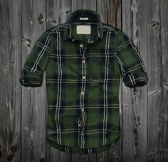 Route 66- -Mens Plaid Shirt - Embroidered | For My Honey ...
