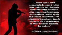Trecho do Livro Alice Black- Princesinha do Inferno