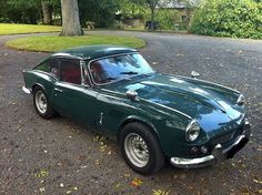 The garage doors were open and a new Triumph with MD plates was inside . Triumph Spitfire, British Sports Cars, E Type, Mk1, Old Cars, Cars And Motorcycles, Vintage Cars, Dream Cars, Classic Cars