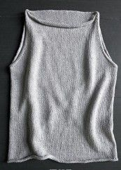 Kal – Tulip Tank Top » Things to Knit