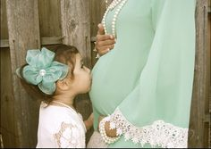 I'm in love with this Maternity photo. Photography Maternity Lace Pearls Vintage Old-fashioned Mother and daughter Rustic Precious maternity style maternity fashion elegant