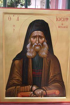Byzantine Art, Byzantine Icons, Orthodox Christianity, Orthodox Icons, St Joseph, Holy Spirit, Fresco, Saints, Mona Lisa