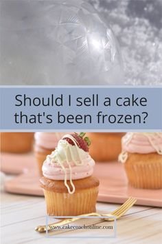 Selling cakes that have been previously frozen - causes a big discussion on social media. Some say - now its not fresh. Others say it makes them taste moist. If you are selling cakes - do you use the freezer to help with your work load? Come and read our blog and find out more