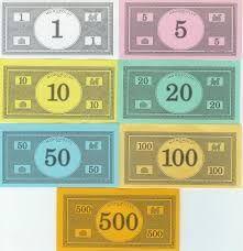 Monopoly Game Board Printable  Library Books  Pinterest
